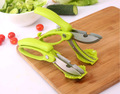 Kitchen Shears with Blade Cover, Stainless Steel Scissors for Herbs, Chicken, Meat & Vegetables
