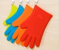 Grilling Heat Resistant Silicone Golves With Five Fingers