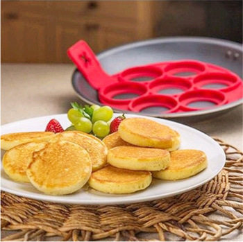 TV hot selling silicone omelette egg mold with a 7-hole omelet